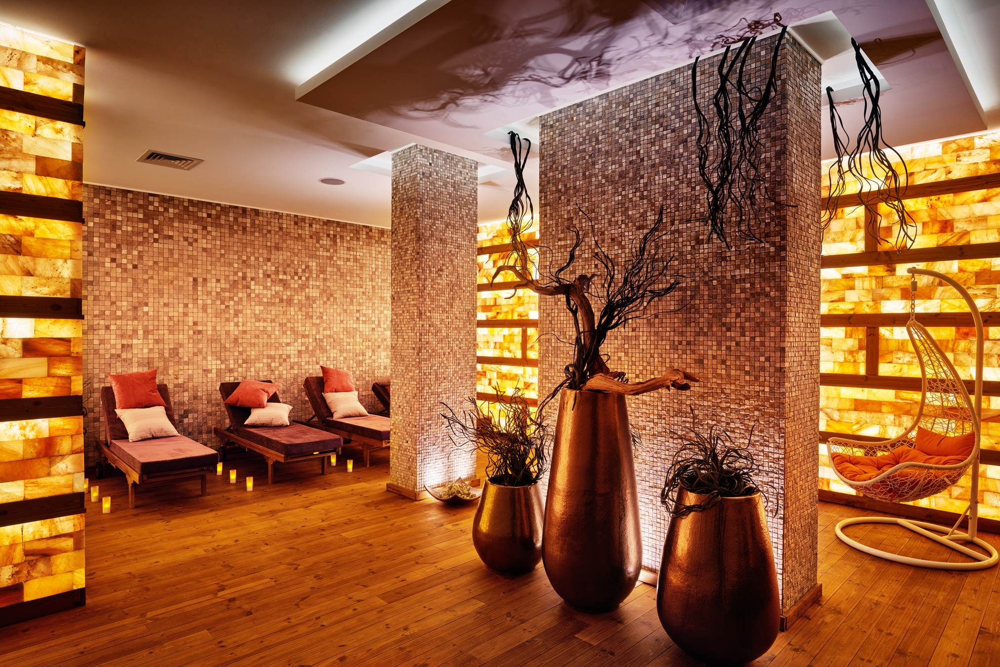 Salt room at Aparthotel Lucky Bansko SPA & Relax