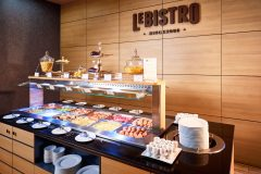 Buffet in the morning - Le Bistro restaurant