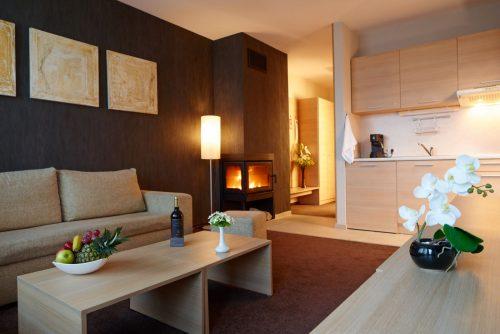 Lucky Bansko Aparthotel SPA & Relax | Fotografie cameră de zi Deluxe