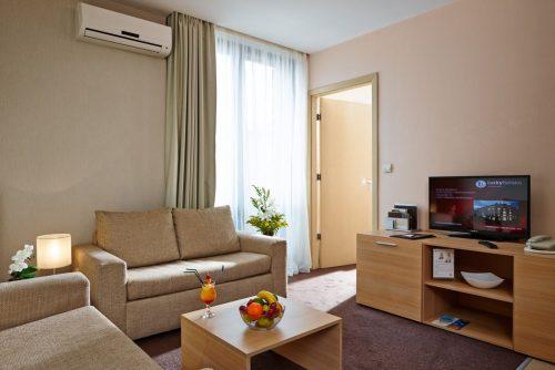 Lucky Bansko Aparthotel SPA & Relax | Camera de zi în studio Lux