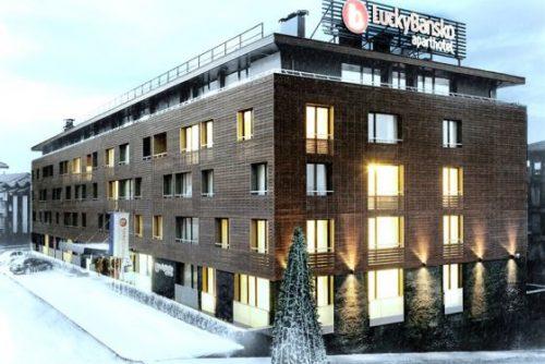 Fatada exterioara a aparthotel | Lucky Bansko SPA & Relax