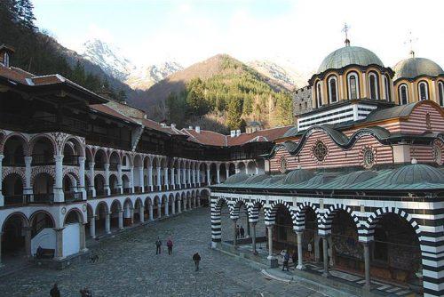 Mănăstirea Rila dinăuntru Lucky Bansko SPA & Relax