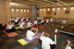 Realizarea cursurilor de yoga