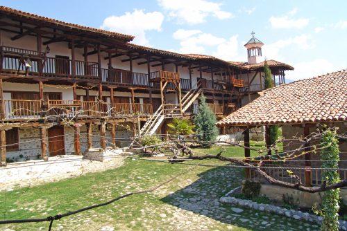 Architecture of Rozhen Monastery | Lucky Bansko