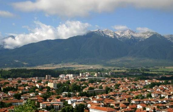 Orașul Razlog în valea Razlog | Lucky Bansko