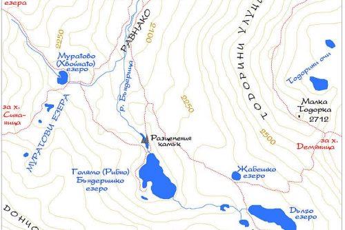 Harta Lacurilor Banderishki | Lucky Bansko SPA & Relax
