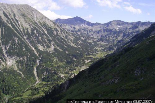 Vârful Todorka și cabana Vihren | Lucky Bansko