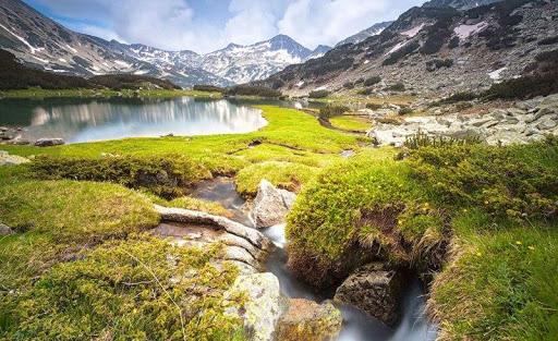 Râuri și parcuri din Munții Pirin