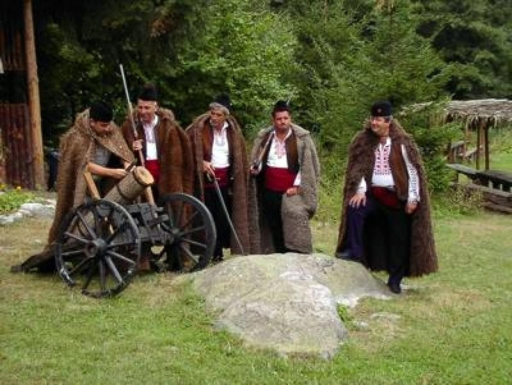 Picnic folclor din Pirin