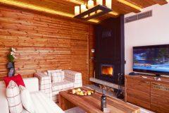 Lucky Bansko Aparthotel SPA & Relax | Apartament Prezidential șemineu