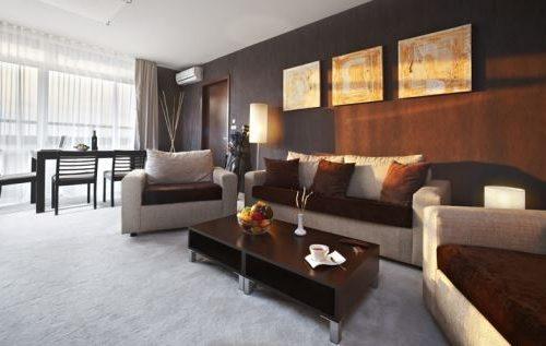 Lucky Bansko Aparthotel SPA & Relax | Fotografie cameră de zi apartament Executive