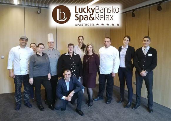 Personalul hotelului   Lucky Bansko SPA & Relax