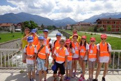 Photo of participants in the kid's camp   Lucky Bansko