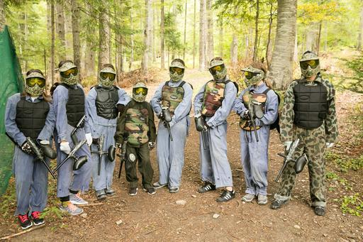 Paintball în pădure din Bansko | Lucky Bansko SPA & Relax