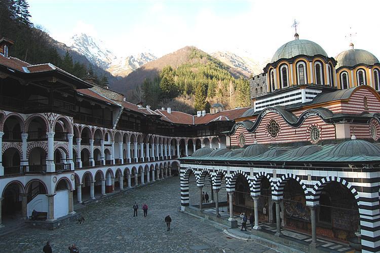 Manastirea Rila interior | Lucky Bansko SPA & Relax