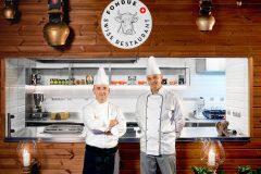 Bucătari la Restaurantul Fondue