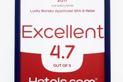 Lucky Bansko SPA & Relax cu rating 4.7 din 5 | Lucky Bansko