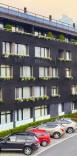 Fatada exterioară a hotelului de apartamente   Lucky Bansko