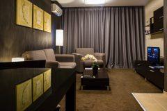 Perdele noi într-un hotel | Lucky Bansko